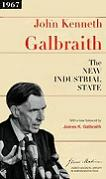 New Industrial State classic book by John Kenneth Galbraith