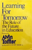 Learning for Tomorrow book edited by Alvin Toffler
