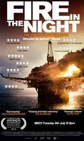 Fire In The Night documentary film about Piper Alpha rig explosion & sinking in 1988