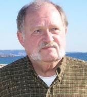 photograph of author G.E. Nordell, taken at Balboa Pier in Orange County, California in December 2004
